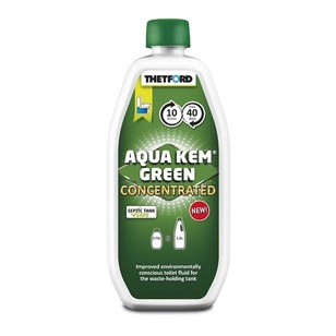 Thetford Aqua Kem Green Concentrated Toilet Fluid 750mL