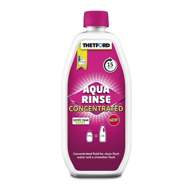Thetford Aqua Rinse Concentrated Toilet Fluid 750 mL