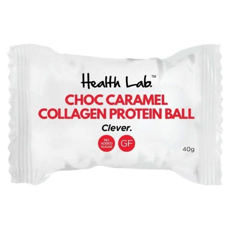 Health Lab Choc Caramel Collagen Protein Ball