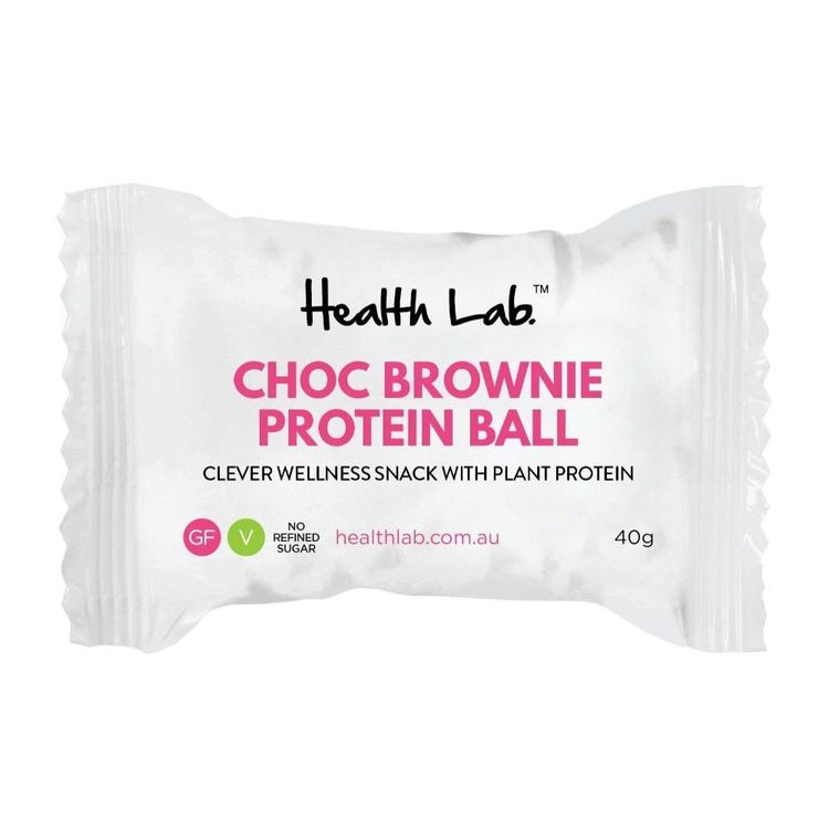Health Lab Thrive Choc Brownie Protein Ball Choc Brownie