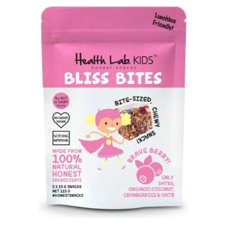 Health Lab Brave Berry Bliss Bites Pack
