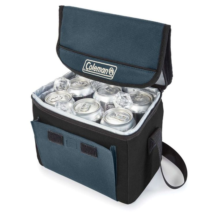 Coleman Soft Collapsible 18 Can Cooler Slate