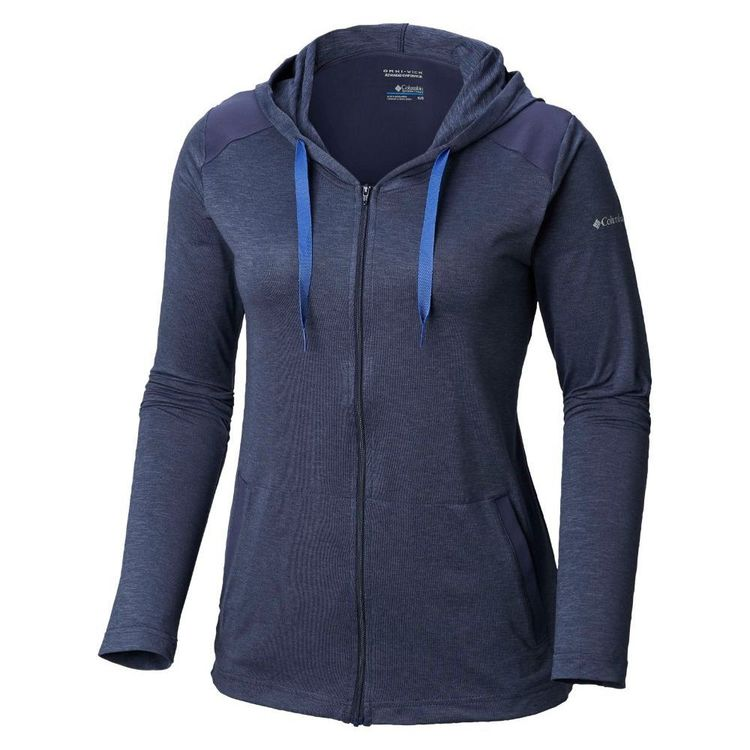 Columbia Women's Place to Place Fullzip Jacket Nocturnal Heather