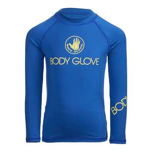 Body Glove Kid's Angled Long Sleeve Rash Vest