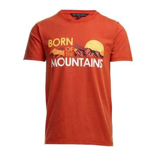 Mountain Design Men's Heritage Print Short Sleeve Tee