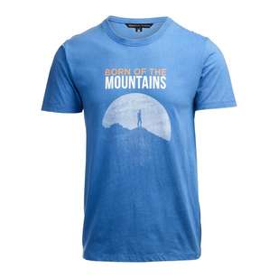 Mountain Designs Men's Heritage Blue Short Sleeve T-Shirt
