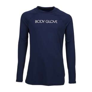 Body Glove Youth Long Sleeve Rash Vest Navy