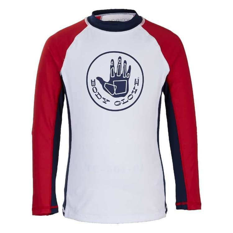 Body Glove Kids' Hand Print Long Sleeve Rash Vest