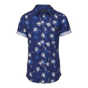 Body Glove Youth Palm Print Shirt