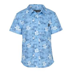 Body Glove Kids' Hibiscus Print Shirt