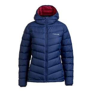 Mountain Designs Women's Peak 700 Down Jacket Navy & Plum