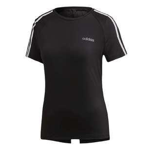 adidas Women's Design 2 Move 3-Stripe Tee
