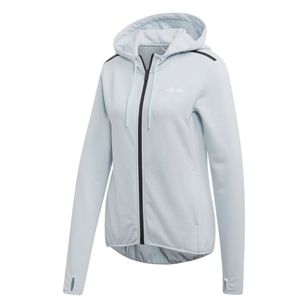 adidas Women's Enhanced Motion Full Zip Hoodie