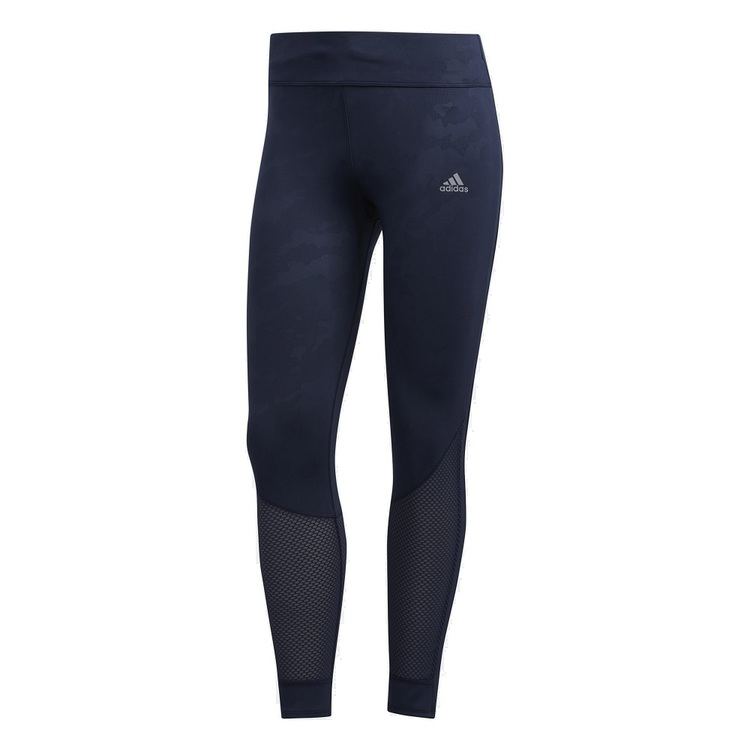 adidas Women's Own The Run 7/8 Graphic Tights Ink