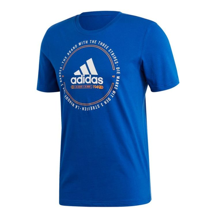 adidas Men's Must Haves Emblem Tee