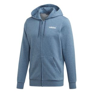adidas Men's Essentials Linear Full Zip Fleece Hoodie
