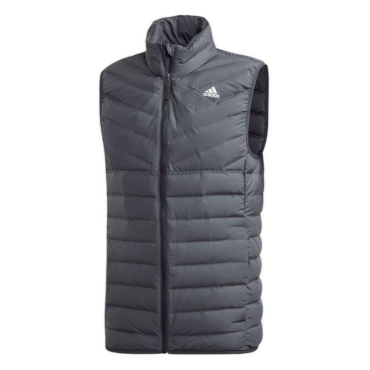 adidas Men's Varilite 3 Stripe Soft Down Vest