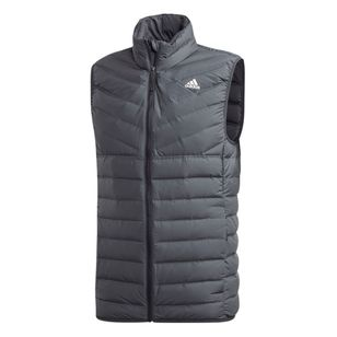 adidas Men's Varilite 3 Stripe Soft Down Vest
