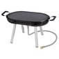 Gasmate Voyager Portable Grill BBQ Black