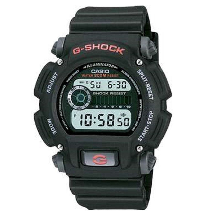 Casio G-Shock DW9052-1 Watch Black One Size Fits Most