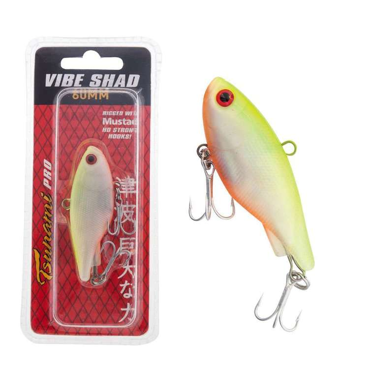 Tsunami Soft Vibe Shad 60 mm Rigged Lure