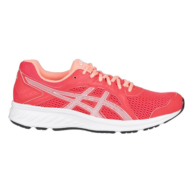 ASICS Women's Jolt 2 Running Shoes Laser Pink & White