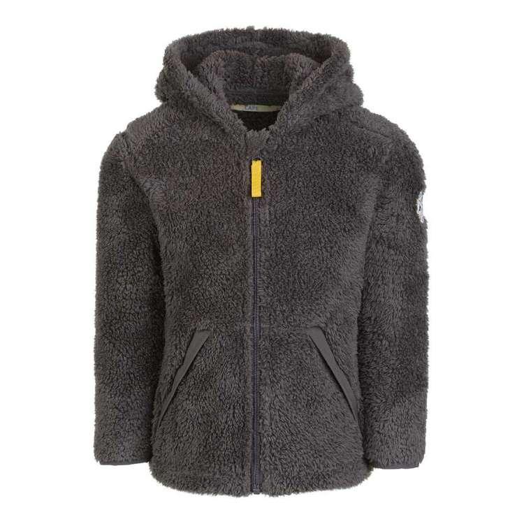 Cape Kids' Hood Sherpa Fleece Top