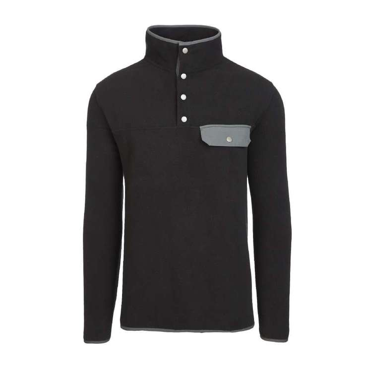 Gondwana Men's Recycled Henley Fleece Top