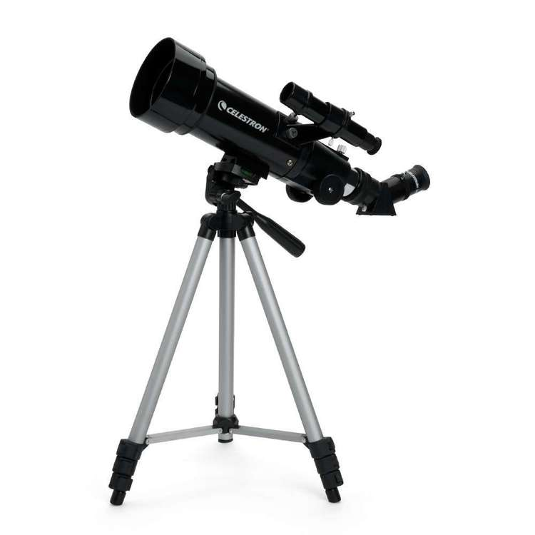Celestron Travel Scope 70 Telescope with Backpack Blue