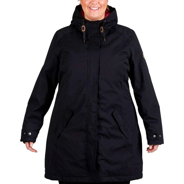 Gondwana Women's Warrimoo Insulated Long Line Jacket Plus Size