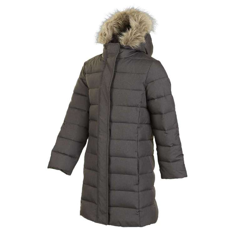 Cape Youth Longline Puffer Jacket Grey 12