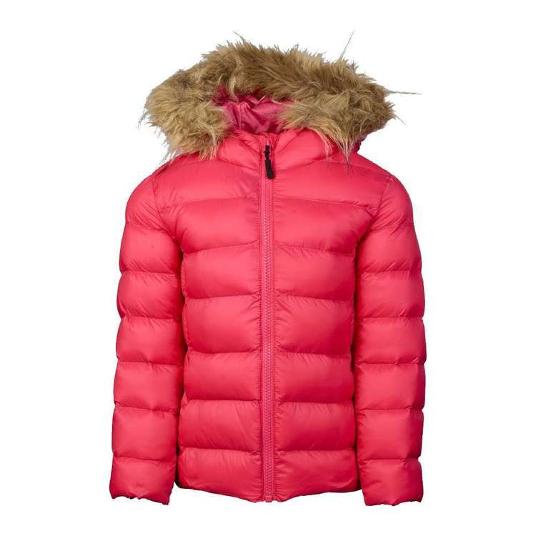 Cape Kids' Fur Recycle Puffer Jacket