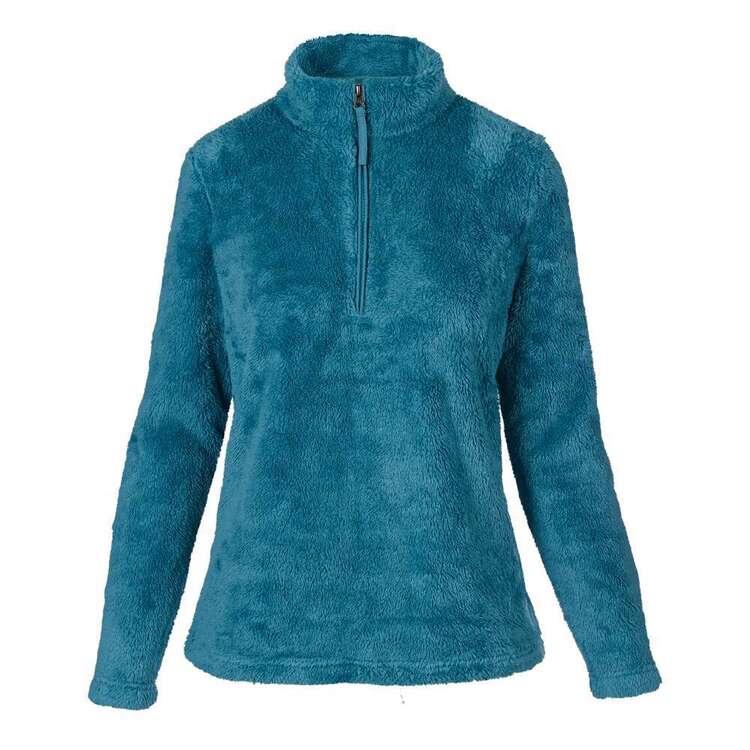 Cape Women's Belinda Fluffy Fleece Top
