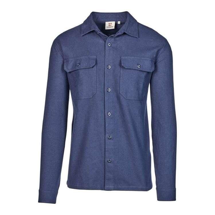 Gondwana Men's Lumber Organic Flannel Shirt