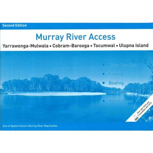 Murray River Access Map #1 Yarrawonga-Mulwala to Ulupna