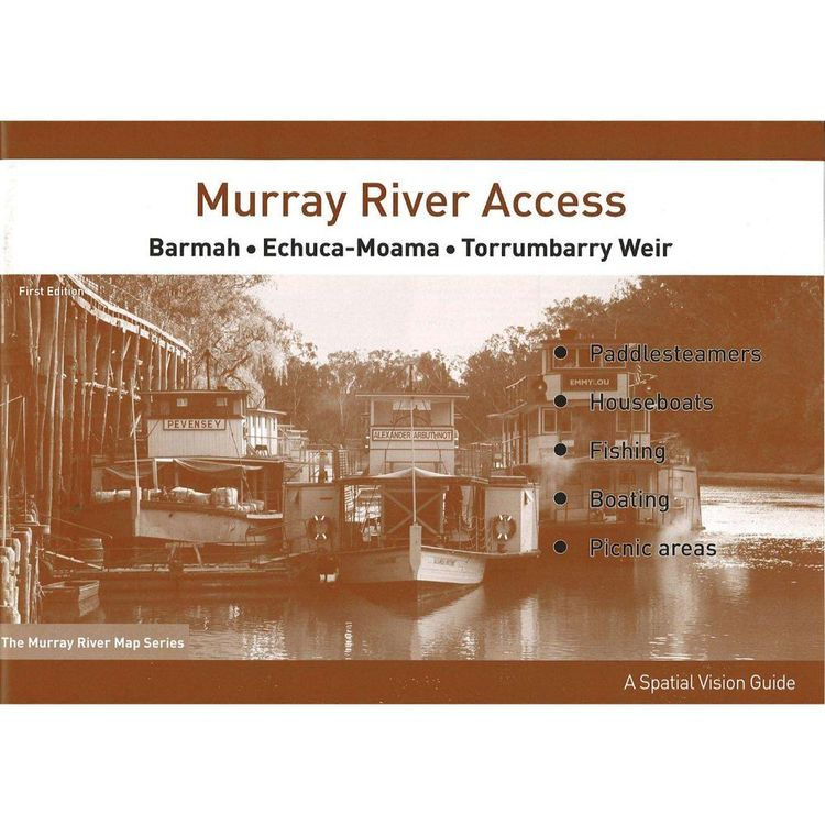 Murray River Access Map #2 Barmah to Torrumbarry Weir
