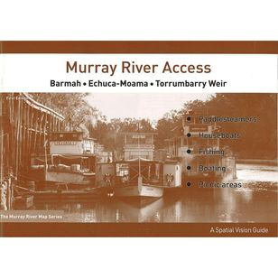Murray River Access Map #2 Barmah to Torrumbarry Weir