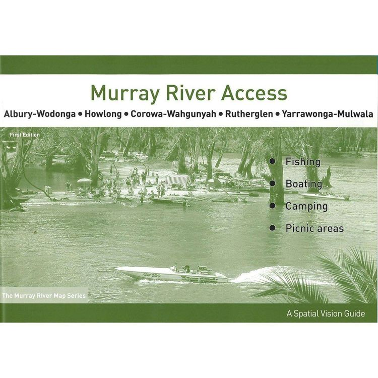 Murray River Access Map #3 Albury-Wodonga to Yarrawonga Mulwala