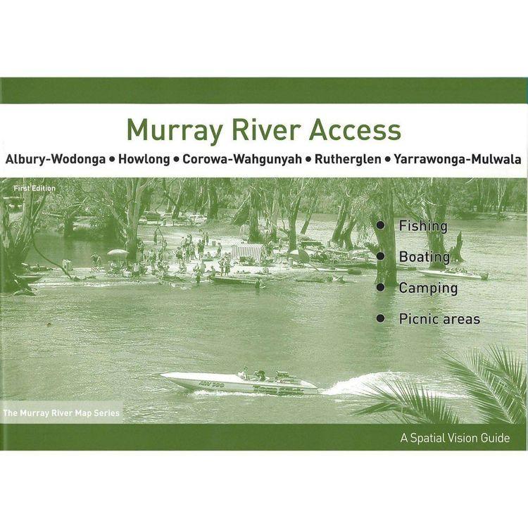 Murray River Access Map #3 Albury-Wodonga to Yarrawonga Mulwala