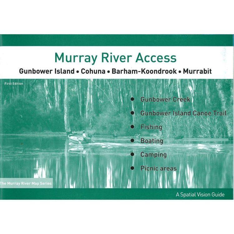 Murray River Access Map #4 Gunbower Island to Murrabit