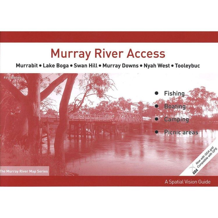 Murray River Access Map #5 Murrabit to Tooleybuc
