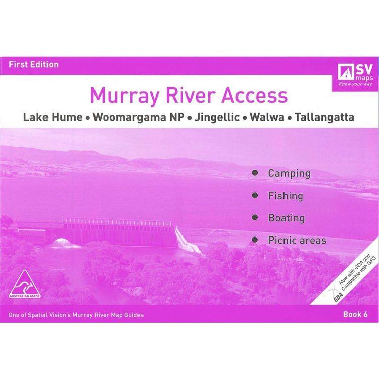 Murray River Access Map #6 Lake Hume to Tallangatta