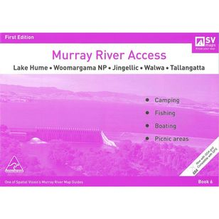 Murray River Access Map #6 Lake Hume to Tallangatta