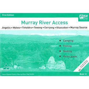 Murray River Access Map #12 Jingellic, Walwa, Tintaldra, Towong, Corryong, Khancoban, Murray Source