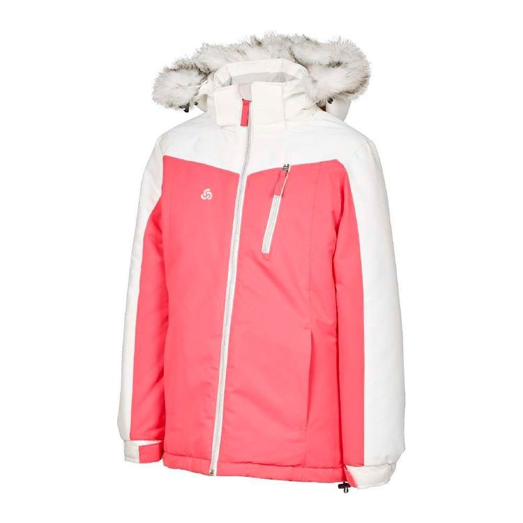 Chute Youth Spliced Snow Jacket Pop Pink