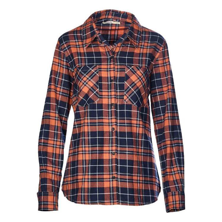 Cape Women's Amie Check Flannel Shirt