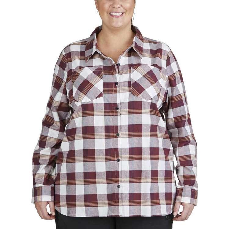 Gondwana Women's Venman Check Shirt Plus Size