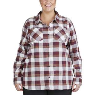 Gondwana Women's Venman Check Shirt Plus Size