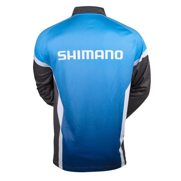 Shimano Corporate Sublimated Shirt Blue