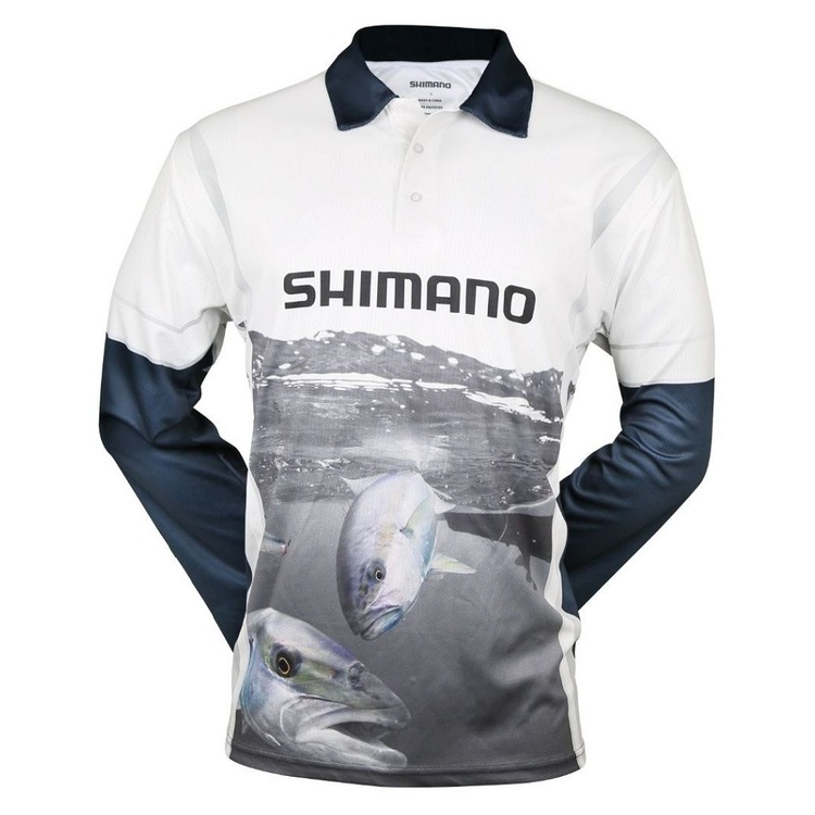 Shimano Kingfish Sublimated Shirt Multicoloured